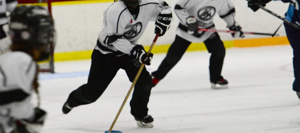 Ringette players in Chilliwack