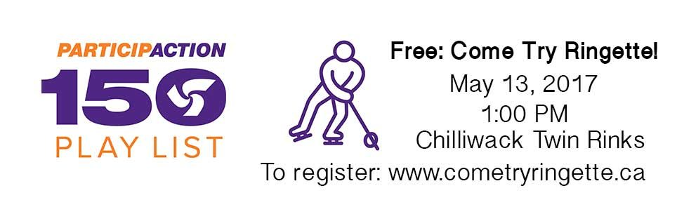 Come Try Ringette in Chilliwack for Free